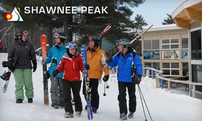 Shawnee Peak - Denmark: $35 for All-Day Pass at Shawnee Peak in Bridgton, ME (Up to $56 Value)