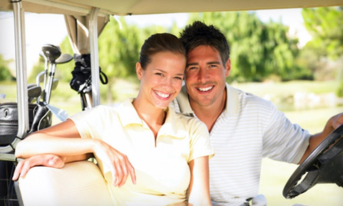 Woodbine Golf Course - Homer: $52 for a Golf Outing with Cart for Two at Woodbine Golf Course in Homer Glen (Up to $122 Value)