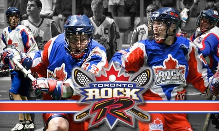 Toronto Rock Lacrosse Club - Downtown Toronto: One Ticket to a Toronto Rock Lacrosse Club Game. Choose from Nine Options.
