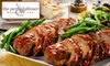 52% Off Prepared Meals or Catering