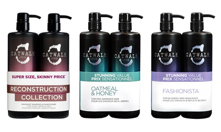 TIGI Catwalk Shampoo and Conditioner Twin Set