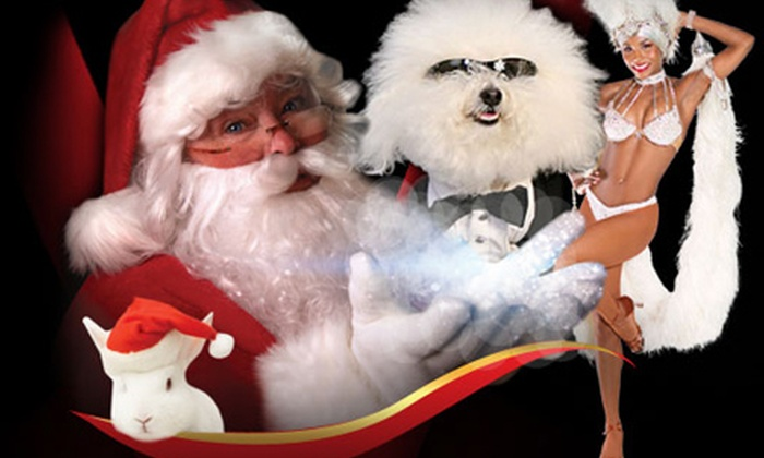 """""""Santa's Magical Circus"""" - The Strip: Outing for Child, Adult, or Family of Four to """"Santa's Magical Circus"""" at The V Theater (Up to 69% Off)"""