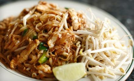 $20 Groupon to Bangkok Palace Thai Restaurant - Bangkok Palace Thai Restaurant in Santa Barbara