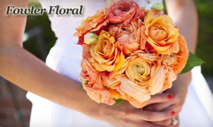 Fowler Floral - Fowler: $20 for $40 Worth of Flowers, Gifts, and More from Fowler Floral