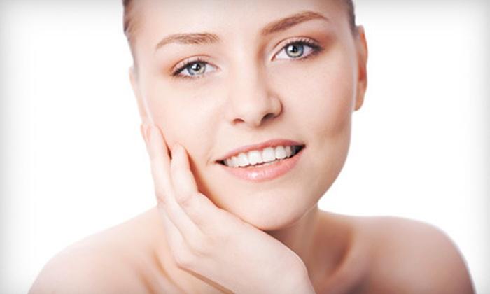 Lovia Cosmetics and Beauty - Multiple Locations: One or Three 45-Minute Custom Facials at Lovia Cosmetics and Beauty (Up to 62% Off)