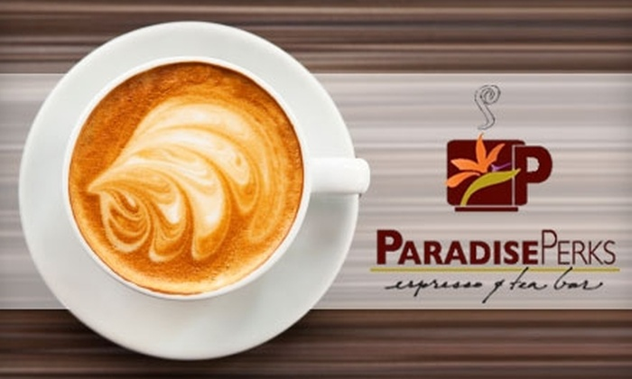 Paradise Perks - Woodbridge: $10 for $20 Worth of Coffee, Pastries, and More at Paradise Perks in Irvine