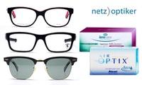 Wertgutschein über 40, 70 oder 100 € anrechenbar auf Brillen, Sonnenbrillen, Linsen und Pflegemittel von netzoptiker.de