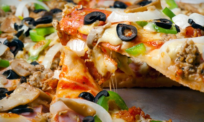 Sarpino's Pizzeria - North Park: One or Two Large Pizzas with Up to Four Toppings at Sarpino's Pizzeria (Up to 58% Off)