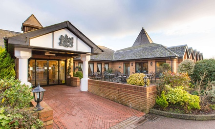 Spa Experience with Danish Pastry, Drink and Towel Hire for Two at Bridgewood Manor