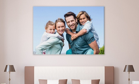 Gallery-Wrapped Canvas Prints from Simple Canvas Prints (Up to 94% Off)