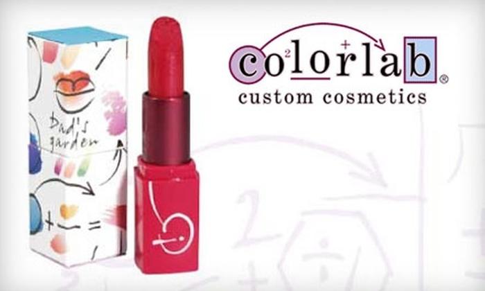 Colorlab Custom Cosmetics - Oak Brook: $49 for $100 Worth of Cosmetics at Colorlab Custom Cosmetics in Oak Brook