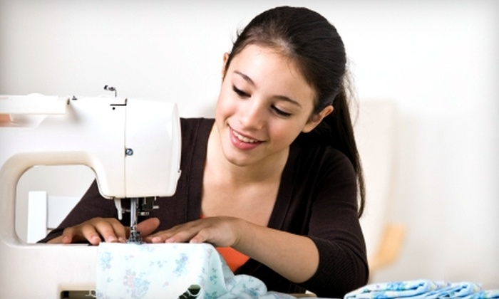 The Sewing Studio - Old Pasadena: Kids' or Teens' Fashion Sewing Classes at The Sewing Studio in Pasadena. Two Options Available.