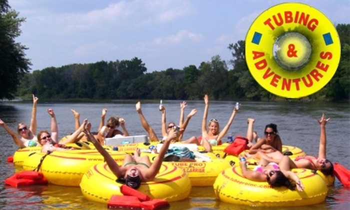 Tubing and Adventures - Waterloo: $8 for a Four-Hour Float Trip with Tubing and Adventures