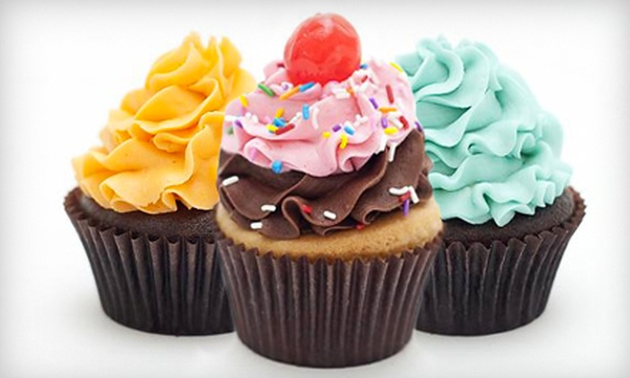 Pink Sugar Cupcakery - Downtown: One or Two Dozen Cupcakes at Pink Sugar Cupcakery (Up to 55% Off)