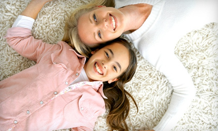Majestic Carpet Cleaning - South Side: Carpet Cleaning for Three Rooms and Hallway or Tile and Grout Cleaning from Majestic Carpet Care (Half Off)