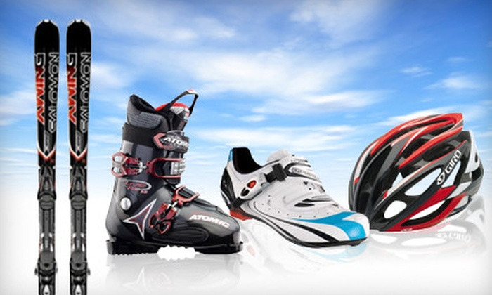 Sun and Ski Sports - Multiple Locations: Ski Tune-Up or $20 for $40 Worth of Ski Gear and Sports Apparel at Sun & Ski Sports