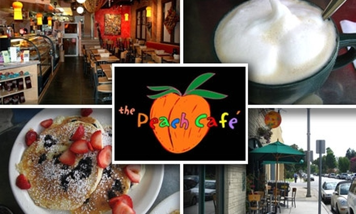 The Peach Café - Monrovia: $10 for $20 Worth of Breakfast or Lunch at The Peach Café