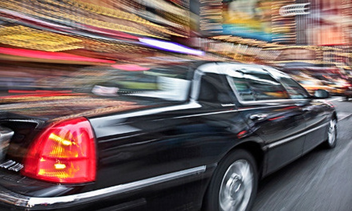 Maine Black Car - East Bayside - India Street: Chauffer Services from Maine Black Car (Up to 53% Off). Six Options Available.