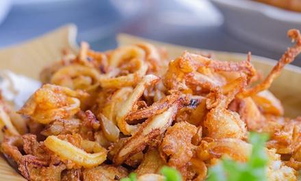 Coupon Enogastronomia & Locali Groupon.it Menu con 1 kg di fritto misto, antipasto e vino al Ristorante Vecchia Osteria (sconto fino a 62%)