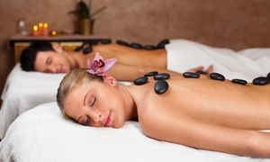 Monika hair and beauty: One-Hour Hot Stone or Swedish Massage at Monika Hair and Beauty (Up to 50% Off)