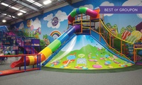 Soft Play Entry with Lunchbox and Drink For Two, Three or Four Children at Lollipop Land