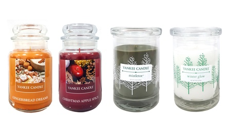 Yankee Candle Christmas Fragrances Twin Pack