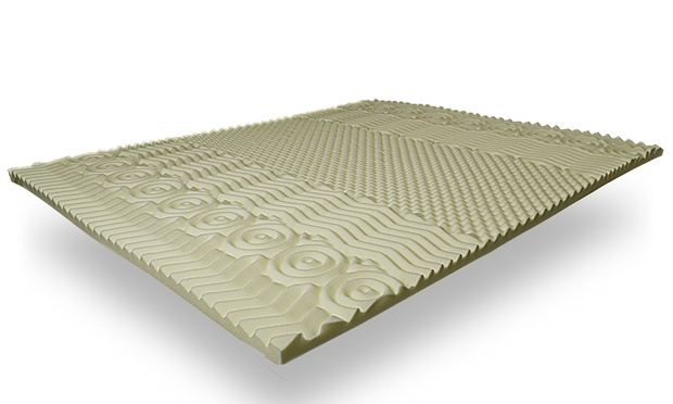 surmatelas m moire forme bambou groupon shopping. Black Bedroom Furniture Sets. Home Design Ideas