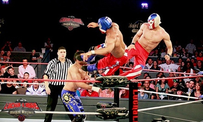 Lucha Libre USA: Masked Warriors - Ontario: $47 for Admission and Post-Show Meet-and-Greet for Two to Lucha Libre USA: Masked Warriors on April 14 ($97 Value)