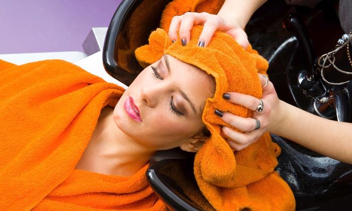 Britt Marie - Chandler: Haircut, Deep Conditioning Treatment, and Style from Britt Marie (60% Off)