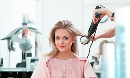 image for Cut and Blow-Dry at Volume Style Bar (49% Off)