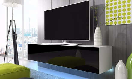 meuble tv lana groupon shopping. Black Bedroom Furniture Sets. Home Design Ideas