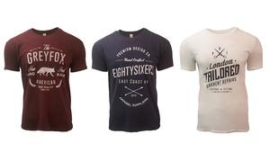Pack 3 t-shirts homme imprimés