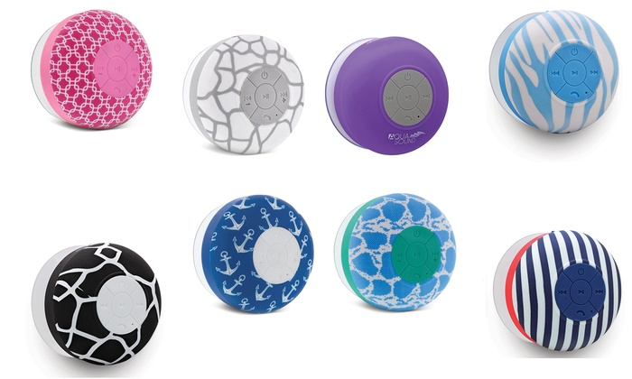 Aduro Aqua Sound Shower Speaker Groupon Goods