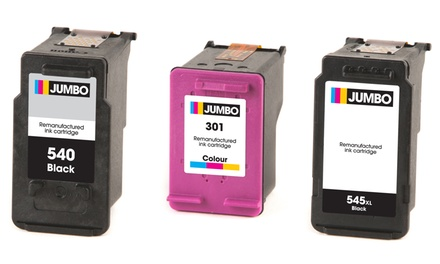 Jumbo Single Ink Cartridges for Canon and HP Printers With Free Delivery