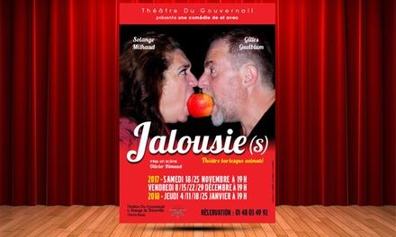 2 entrées au Théâtre Du Gouvernail, option 2 verres de vin ou coupes de champagne rosé dès 19,90 €