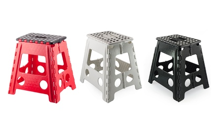 Non-Slip Folding Step Stool in Choice of Colour