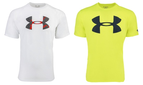 Under Armour Men's Heatgear Graphic Big Logo T-Shirt ff695cce-a50b-4e75-8d8d-2711d5935e73