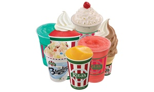 Rita's of Modesto on McHenry Ave: $12 for $20 Worth of Italian Ice and Frozen Custard at Rita's Ice of Modesto (McHenry Ave.)