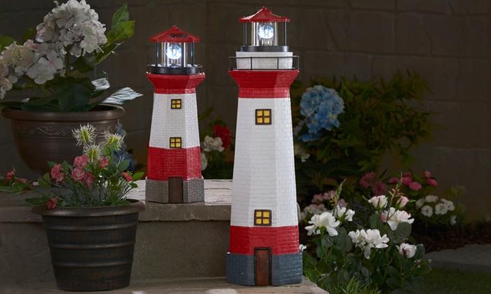 solar led garden lighthouse - Garden Lighthouse