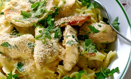 Italian Cuisine at Gina's Bistro (Up to 50% Off). Two Options Available.