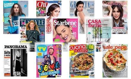 Abbonamenti a riviste Mondadori a 19,90euro