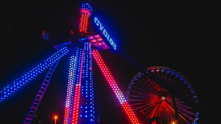 One-Day Admission for One with Unlimited Drinks to HalloScream at Kentucky Kingdom
