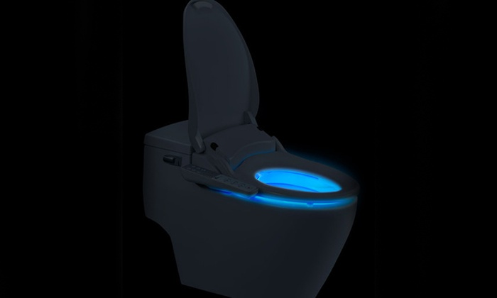 Prime Bio Bidet Slim One Electronic Bidet Seat With Nightlight Caraccident5 Cool Chair Designs And Ideas Caraccident5Info