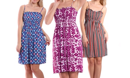 3-Pack of Women's Smocked Dresses