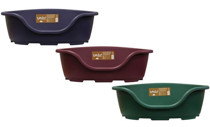 Cuccia di plastica per cani Bedz disponibile in 4 colori e varie misure da 14,99 €