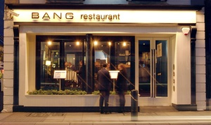 BANG Restaurant: Five-Course Tasting Menu for Two at BANG Restaurant (50% Off)