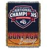 2017 NCAA National Champions Gonzaga Tapestry Throw
