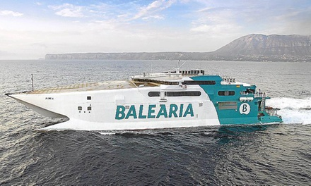 Paga 3 € y obtén un descuento de 40€ en tu billete de ferry, rutas entre península, Baleares, Algeciras, Ceuta y Tanger