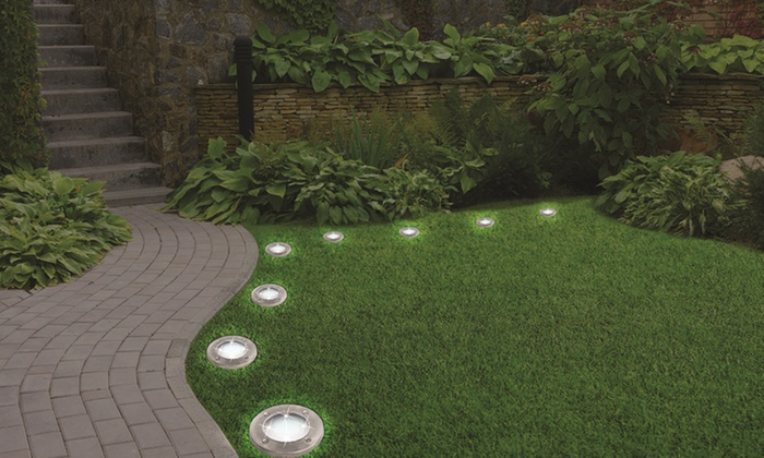 Up To 53% Off on LED Disk Lights | Groupon Goods