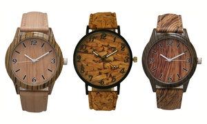 Unisex Cork and Wood Watches at Unisex Cork and Wood Watches, plus 9.0% Cash Back from Ebates.